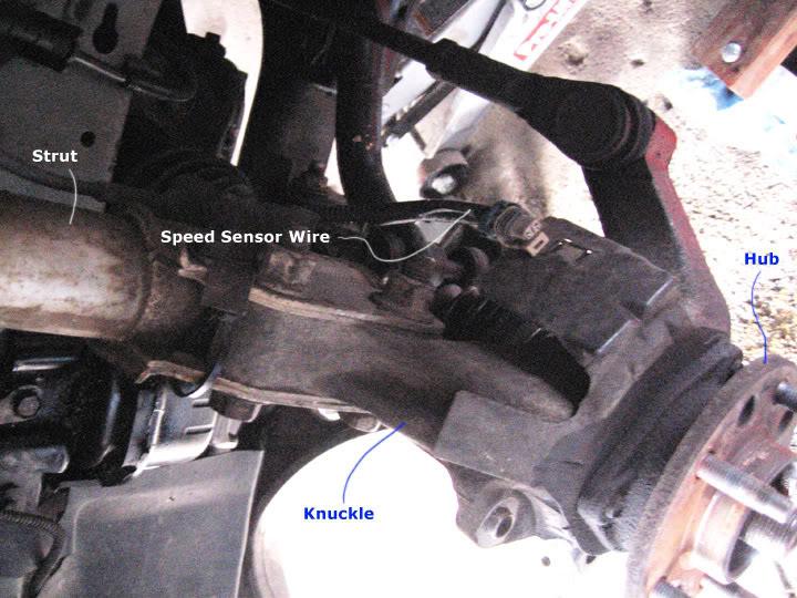 Write-Up: Spindle / Wheel Bearing / Hub Replacement HUBinstall3