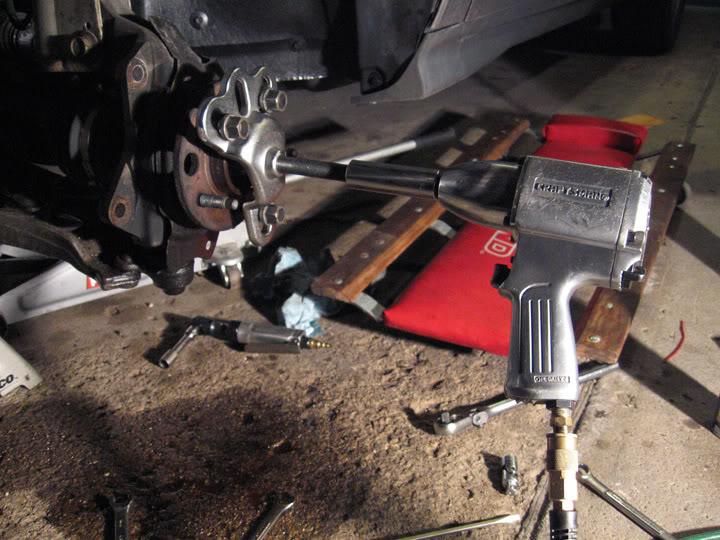 Write-Up: Spindle / Wheel Bearing / Hub Replacement HUBinstall4