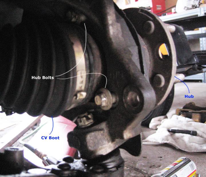 Write-Up: Spindle / Wheel Bearing / Hub Replacement HUBinstall7