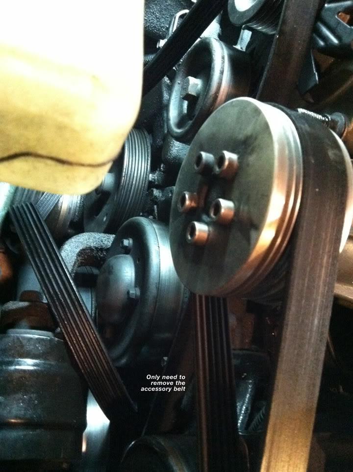 Write-Up: Water Pump (Series II SC) BeltOFF