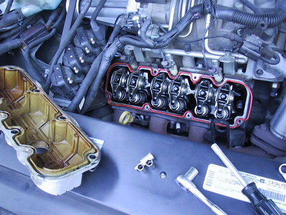 Write-Up: Installing Rockers, Valve Springs, & Push Rods Coveroff