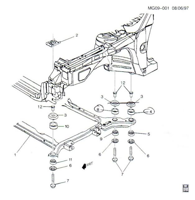 Write-Up: Subframe/Cradle Mount Insulators & Bushings - Page 4 Cradlemount