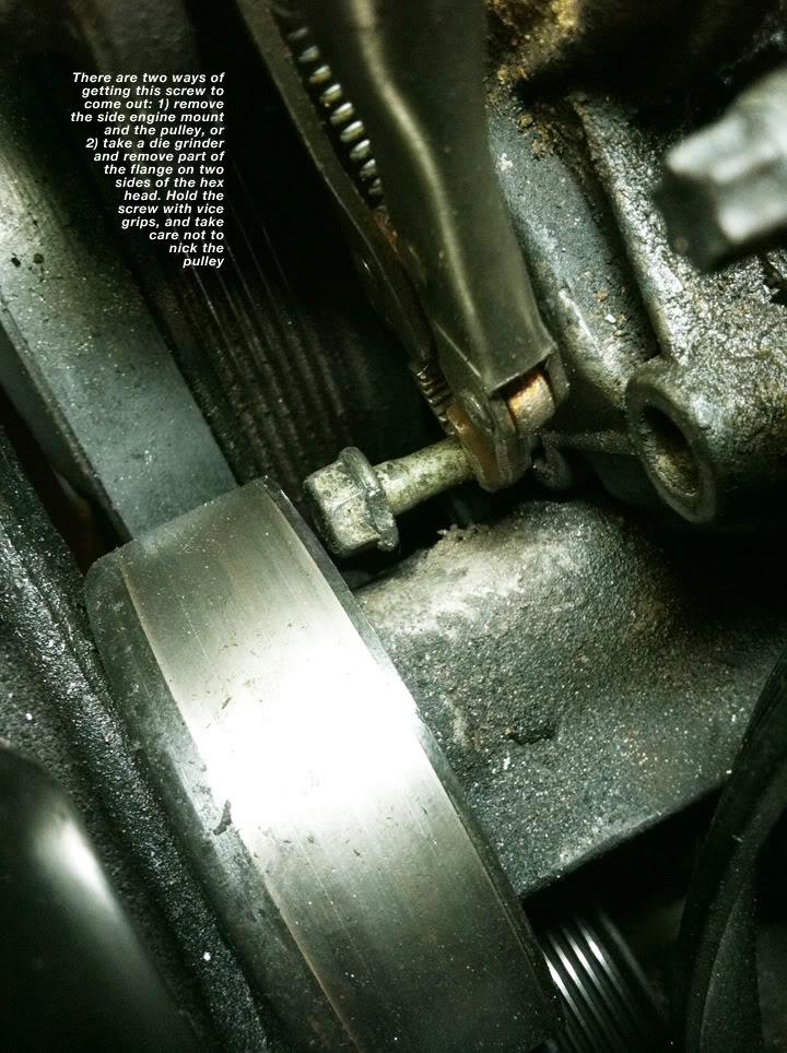 Write-Up: Water Pump (Series II SC) GrindSCREW