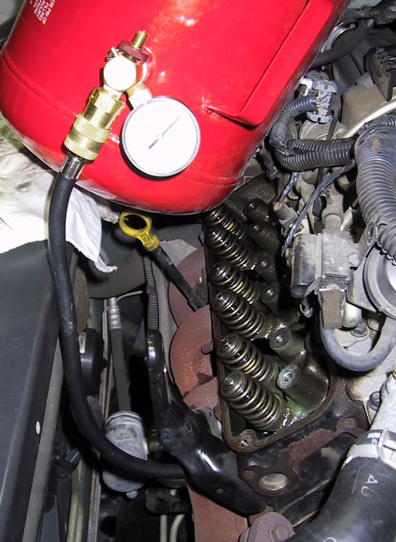Write-Up: Installing Rockers, Valve Springs, & Push Rods Pressure