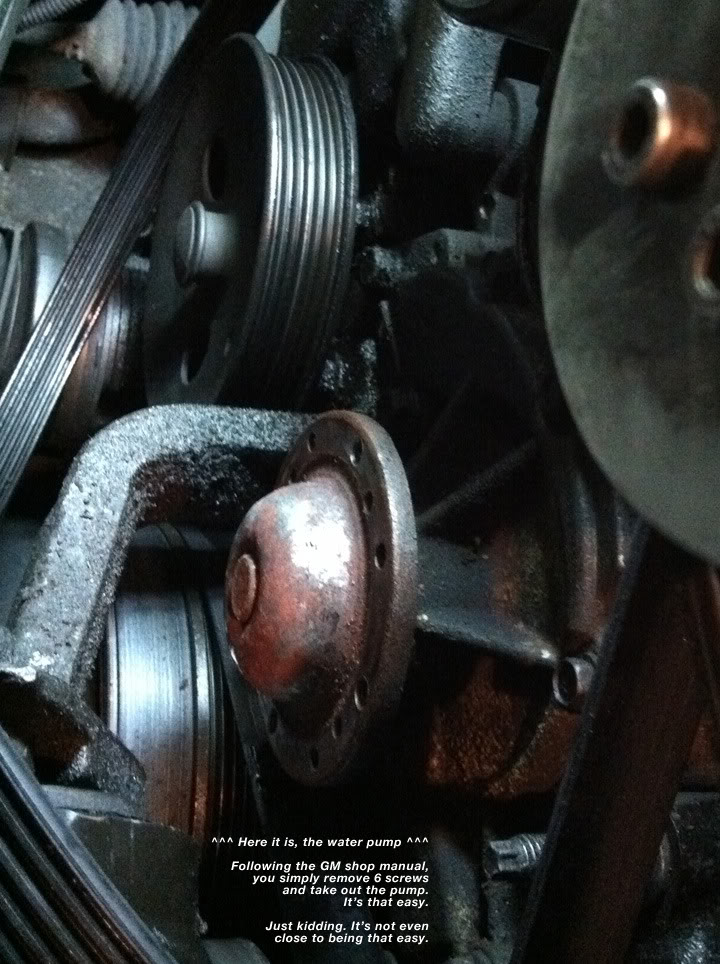 Write-Up: Water Pump (Series II SC) Pump1
