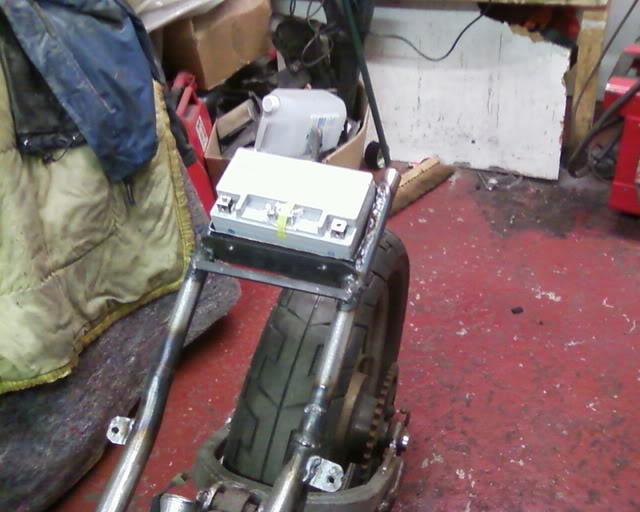 Yamaha XJ550 Batterybox