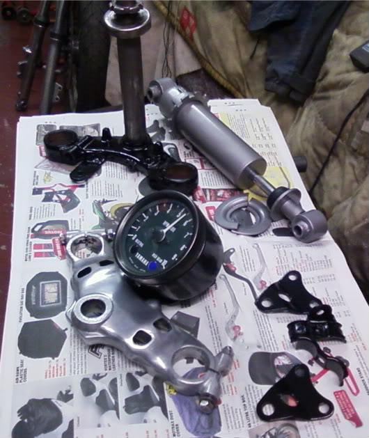 Yamaha XJ550 Paintedbitties