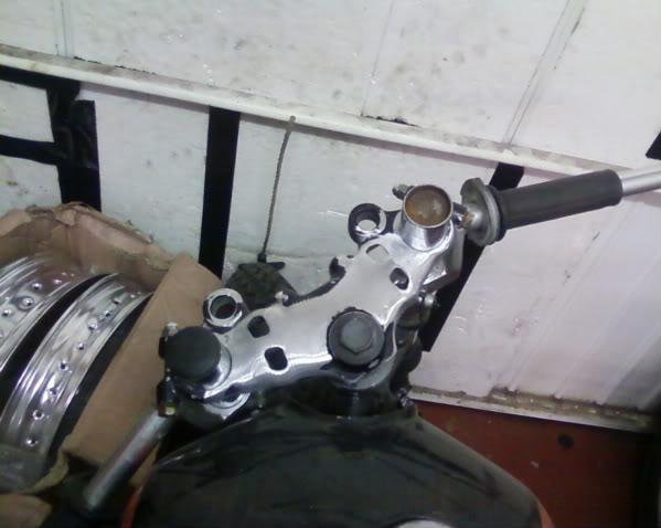 Yamaha XJ550 Topyoke