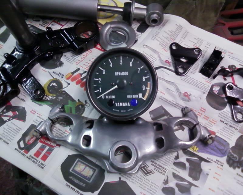 Yamaha XJ550 Topyokefinirhed