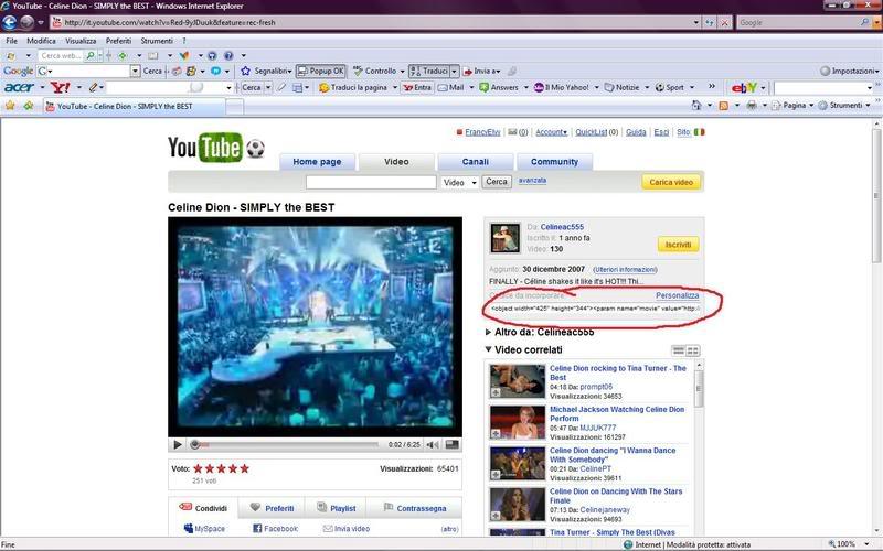Come postare i video da Youtube negli interventi del forum Rider
