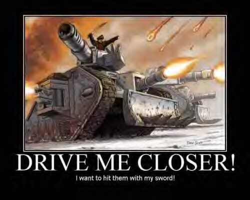 Funny 40K DriveMeCloser