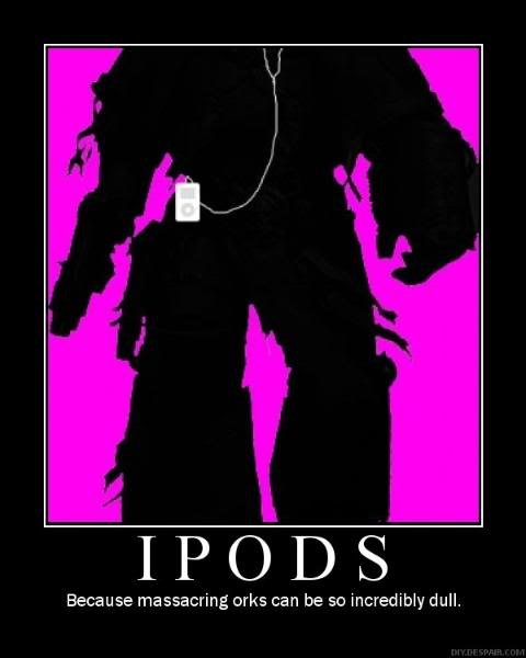 Funny 40K IPods