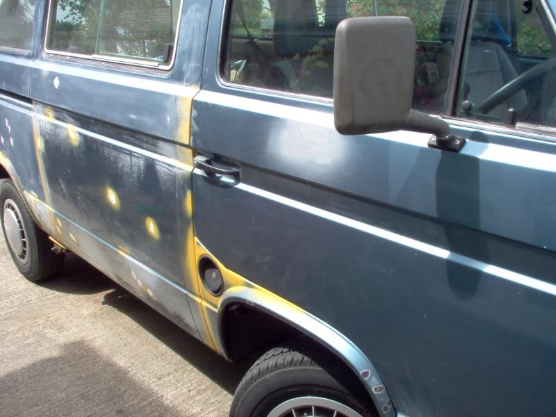 T25 Caravelle to Camper 212