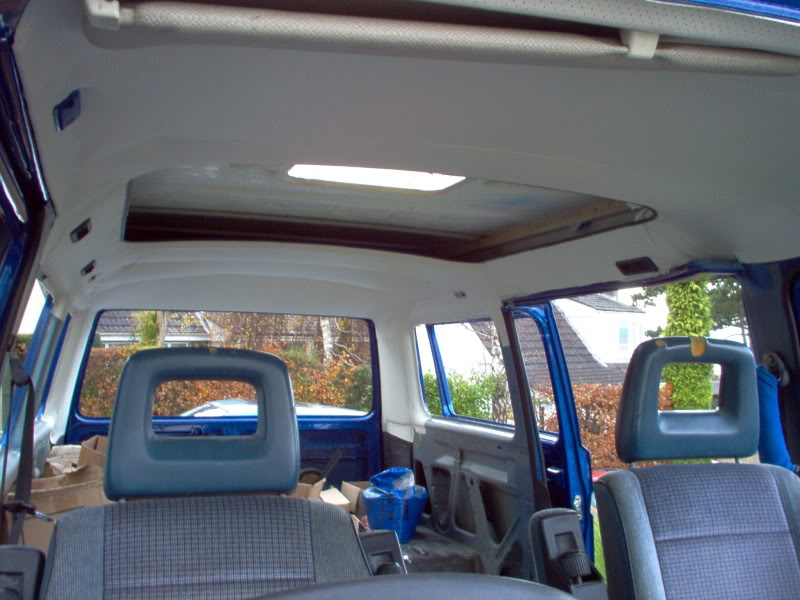 T25 Caravelle to Camper T25001