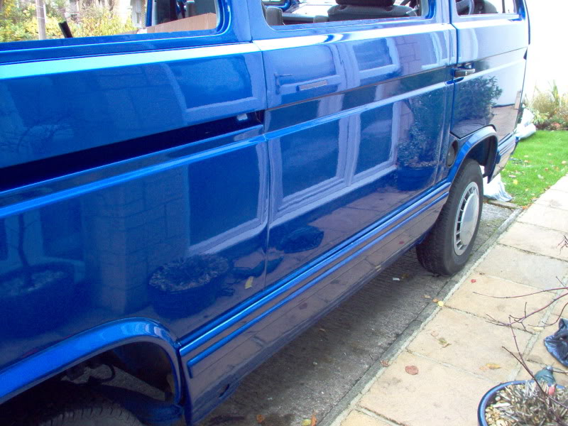 T25 Caravelle to Camper T25006