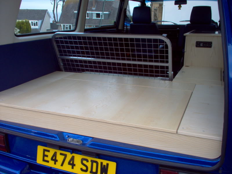 T25 Caravelle to Camper T25018