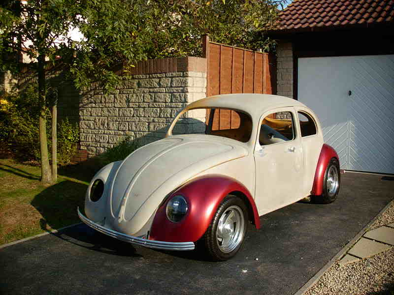 'Beryl' The 1957 RHD Ragtop Oval with suicide doors! VW08001