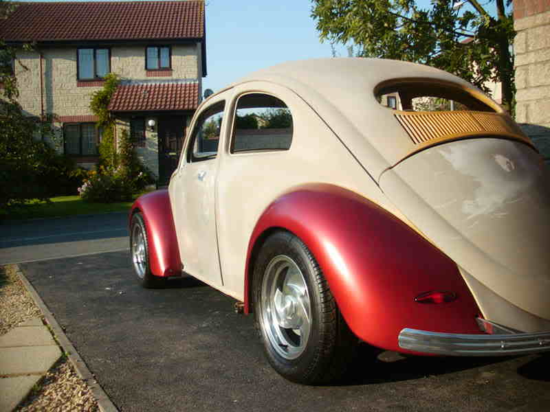 'Beryl' The 1957 RHD Ragtop Oval with suicide doors! VW08004