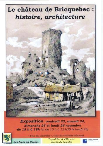 Le château de Bricquebec : histoire, architecture. BRICBE3010