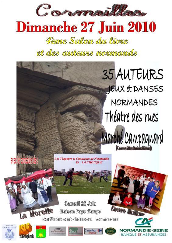Fête Normande à Cormeilles (27). Affichesalonnumeor2
