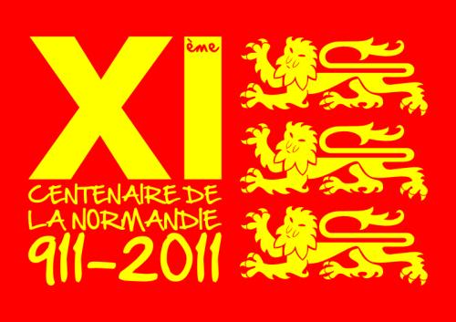 T-shirt XIème centenaire. LogoXIme