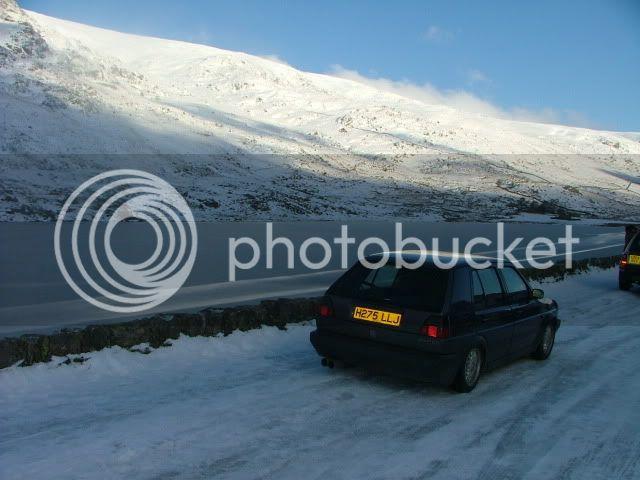 Snowdon Sledging! DSCF0019