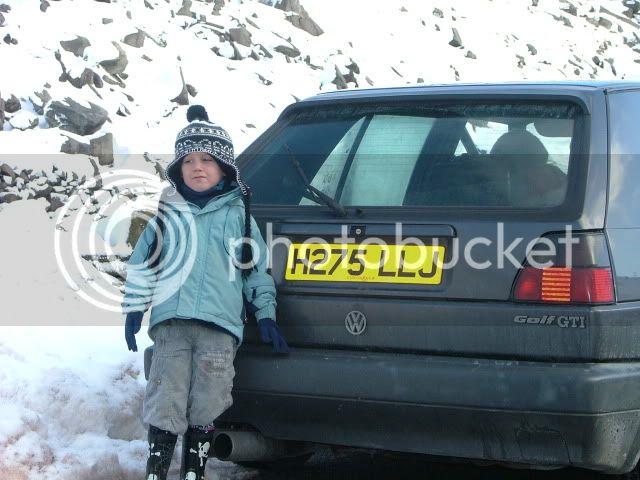 Snowdon Sledging! DSCF0024