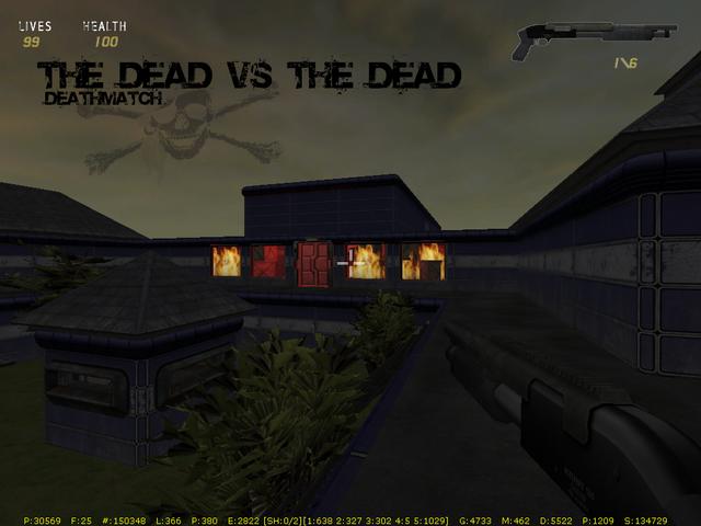 The Dead vs The Dead Flames