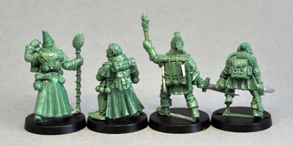 Indiegogo: Classic Dungeon Adventurer Miniatures DA1rear