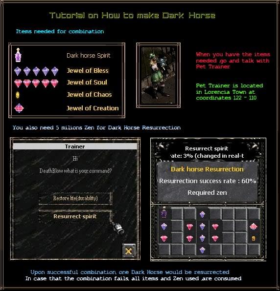DarkLord Pet Create Guide Tutorialfordh4eg
