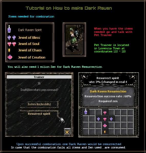 DarkLord Pet Create Guide Tutorialfordr5hp