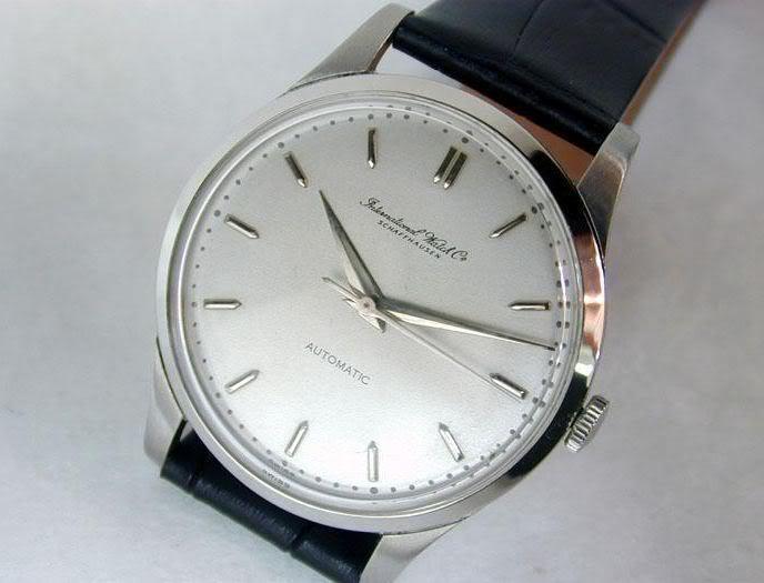Jaeger - Anciennes montres années 1960 IWC - Longines - Jaeger Lecoultre Iwca
