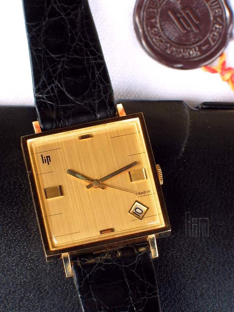 Feu de forum sur les montres carrées ... Lip