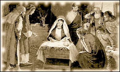songs for CHRIST-MAS Nativity_old_photo