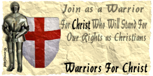 Warriors For CHRIST EPH 6:10 GRAPHICS TEST Image104C