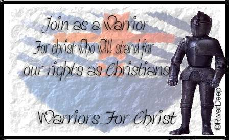 Warriors For CHRIST EPH 6:10 GRAPHICS TEST Elaine1ForChristBanner-1