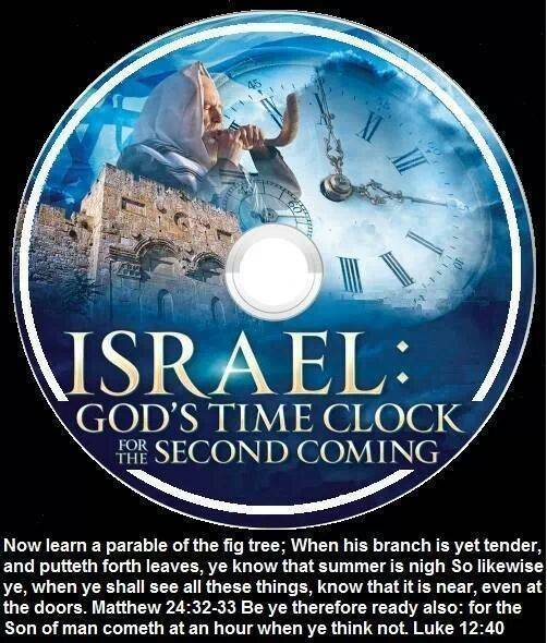 BELIEVE IT! and share FIGTREEISRAELTClock