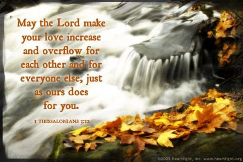 CHRONOLOGIC BIBLE Loveoverflowing