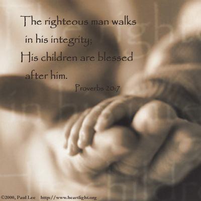 CHRONOLOGIC BIBLE Proverbs20_7