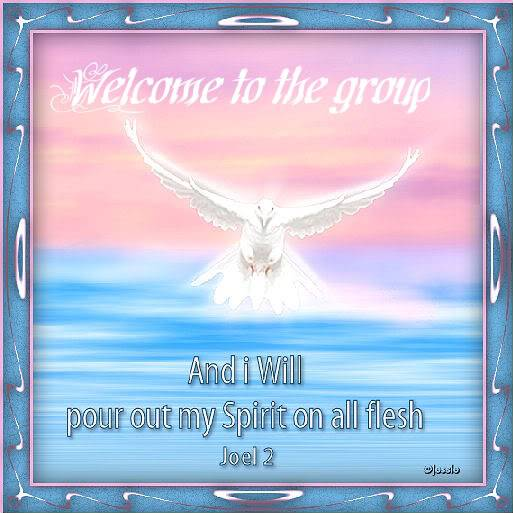 Welcome txkatclayton Holyspirit-2