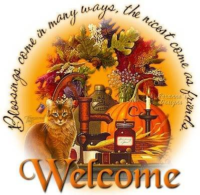 Welcome ~ rhb100 Autumn2520blessings2520welcome