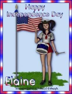 To our friends in USA~ Happy 4th July~Independence Day InddayE