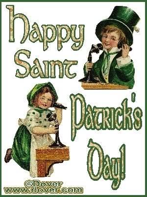 Happy St. Patricks Day BoyandgirlonphoneStPatsday