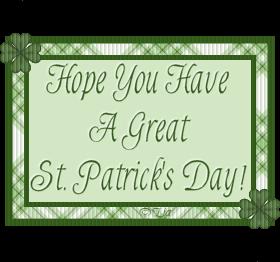 Happy St. Patricks Day Stpatsliaclover