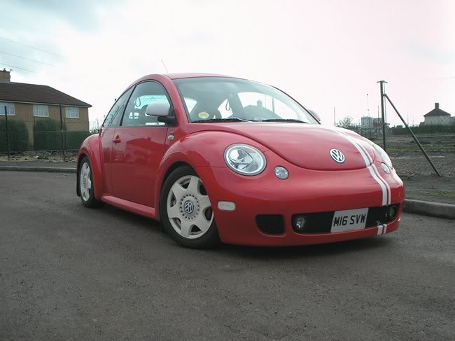 Robbie Rocket - New Beetle Cup Car Replica 105aa854