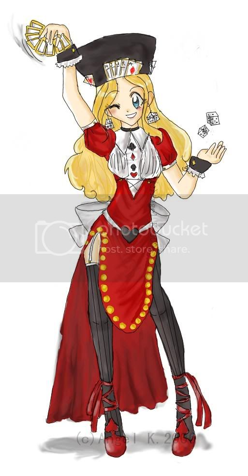 Pictures of your roleplaying characters. Allegra