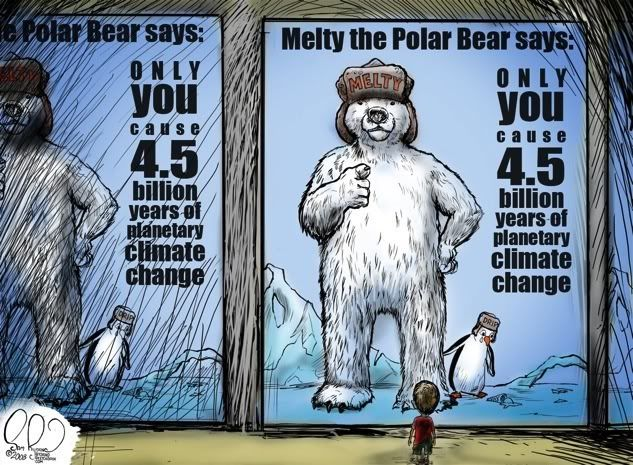 Britain Revisits Global Warming... MeltyThePolarBear