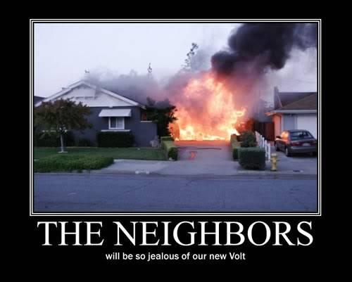 The Neighbors... Volt-fire-garage