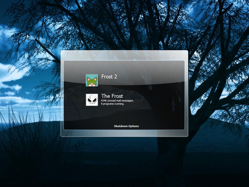 ITT: We post our Desktops! TheFrostsLog-In
