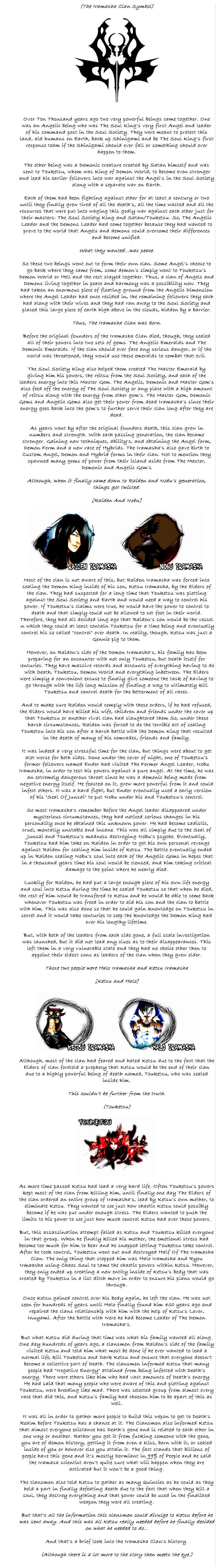 A Brief History Of The Iramasha Clan Iraa